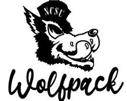 Nc State Decal Etsy