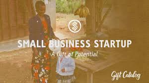 gift catalog small business startup