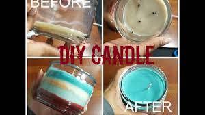 how to reuse leftover candle wax d i