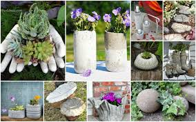 concrete garden decorations you can do