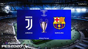 PES 2020 | Juventus vs Barcelona | UEFA Champions League [UCL ...