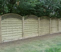 Dastra Fencing With Trellis Curved