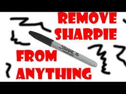 life pro tip remove permanent marker