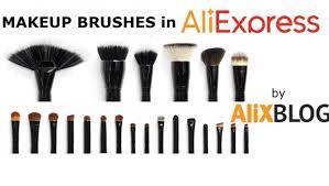 makeup brushes in aliexpress