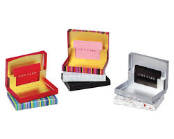 pop up gift card box gift card