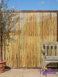 Bamboo Fence Panel With Frame 1 82m X 1 8m 6ft X 6ft By Papillon 47 99 Bamboo Fence Fence Panels Cheap Fence Panels