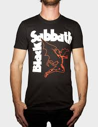 black sabbath creature t shirt black