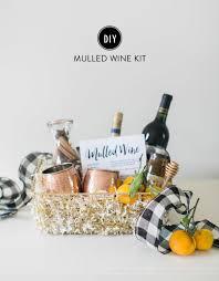 hostess gift diy mulled wine kit