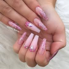 32 super cool pink nail designs that