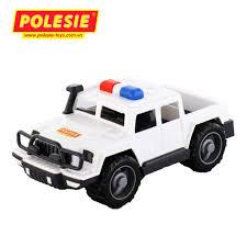 Xe Jeep cảnh sát tuần tra hộ tống đồ chơi