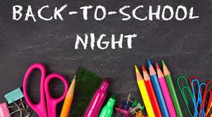 Back to School Night | Santiago Hills Elementary