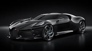 2019 bugatti la voiture noire 4k car