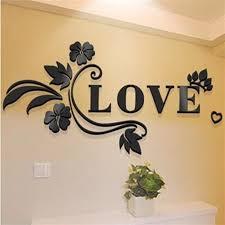 Beautiful 3d Flowers Vine Wall Stickers Living Room Home Decor Wallpap Kimia Living