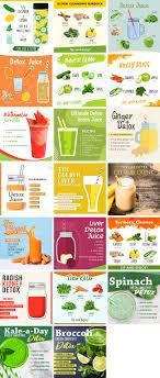 detox juice recipes bundle healthinomics