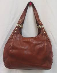 coach madison brown leather satchel