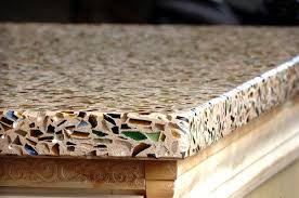 recycled glass countertops what to