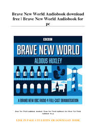 Brave New World Audiobook download free ...
