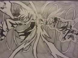 Naruto and sasuke clash sketch by Spawnofhell96 on DeviantArt