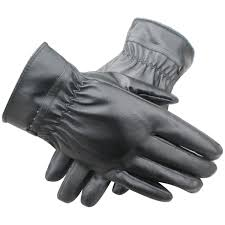 driving smart warm soft leather gloves