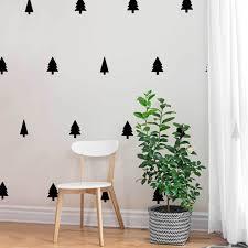 Mini Pines Decal Set Mini Pine Tree Kiss Cut Leaf Decal By Chromantics