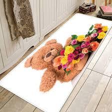 cute teddy bear rose flower valentine s