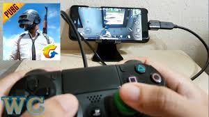 pubg mobile with ps4 controller android