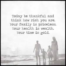 inspirational life quotes today be thankful think how rich you are
