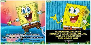 quotes bijak dan lucu dari karakter spongebob squarepants ini