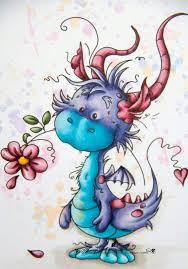 Pin by Hilda Gilbert on Cute /whimsical dragons | Cute dragons, Dragon art,  Dragon drawing