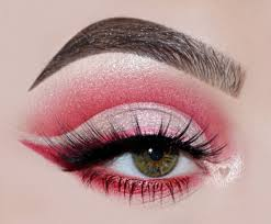 red cut crease tutorial how to create
