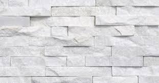 white quartzite split face mosaic tile