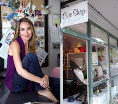 A Chic Peek Inside Hillary Thomas' Chic Shop Plus a Tour of Her ...