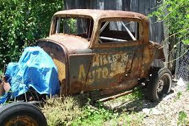 Hot Rods - 32 Ford 5 window race car junkyard via ebay score | Old ...