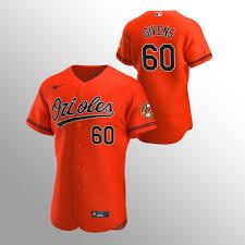 Orioles Mychal Givens Authentic 2020 Alternate Orange Men's Jersey