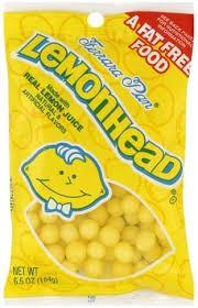 lemonhead candy 6 5 oz nutrition