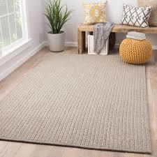 indoor outdoor solid gray area rug