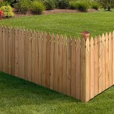 3 5x8 Cedar French Gothic Privacy Outdoor Essentials