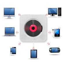 china wall mounted cd player bluetooth