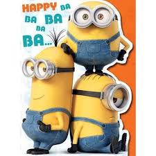 minion large birthday card danilo