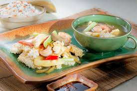 Sizzling Rice Soup – Yan Can Cook