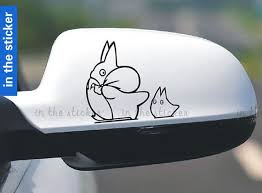 Totoro Car Sticker Window Decal Door Sticker Decal Sticker Car Decal Decals Car Sticker Decals Sticker For Car Totoro Studio Ghibli Totoro Diy