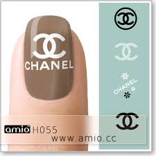 Water Decal Chanel Nail Sticker Chanel Nail Design H055 Us 0 30 Amio Inc Supply Water Nail Decal Nail Sticker Tattoo Sticker
