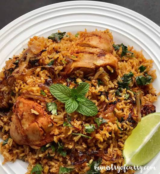 Biryani with Sonamasuri Rice