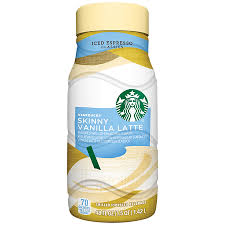 starbucks skinny vanilla latte iced
