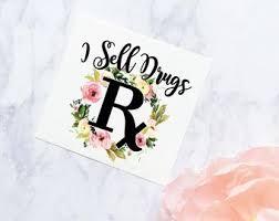 Pharmacist Decal Etsy