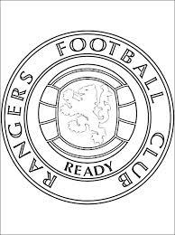 Kleurplaten Rangers Football Club Gratis Kleurplaten