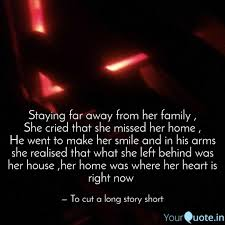 staying far away from her quotes writings by soul catcher