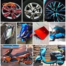 1007965343 Carcardo Flexible Chrome Car Sticker Vinyl Wrap Mirror Chrome Vinyl Film Car Wrap Chrome Auto Sticker Car Decal Car Accessories Automobiles Motorcycles Exterior Accessories