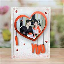 i love you valentine personalized card