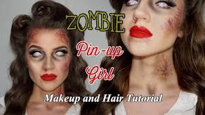 pin up makeup and hair tutorial